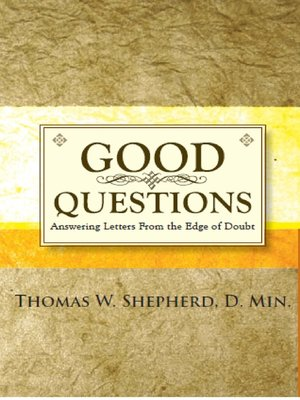 cover image of Good Questions